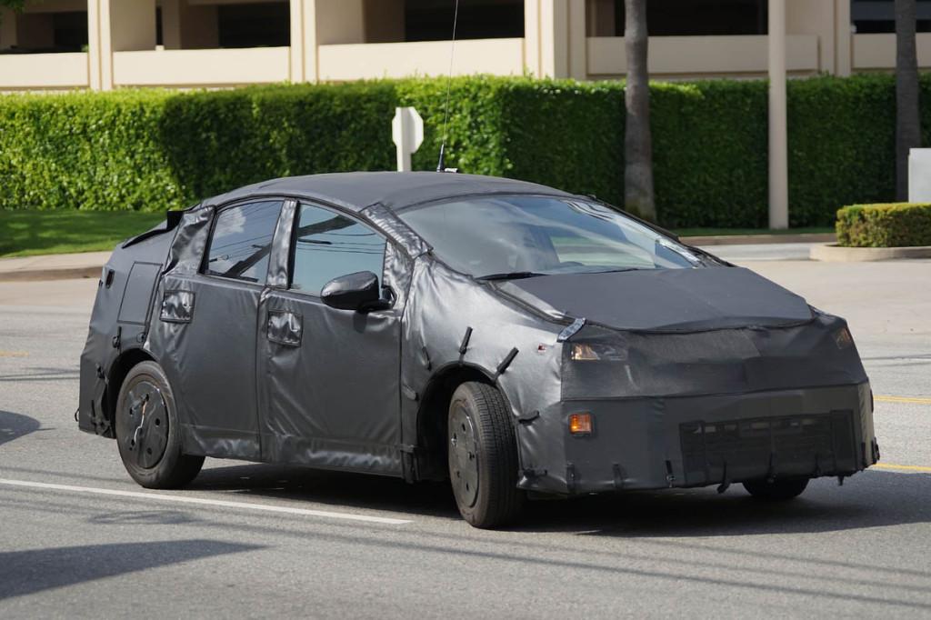 2015 Toyota Prius Spy