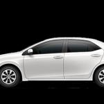 2014 Toyota Corolla in Blizzard Pearl