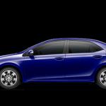 2014 Toyota Corolla in Blue Crush Metallic