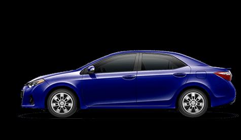 2014 Toyota Corolla In Blue Crush Metallic Limbaugh