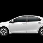 2014 Toyota Corolla in Super White