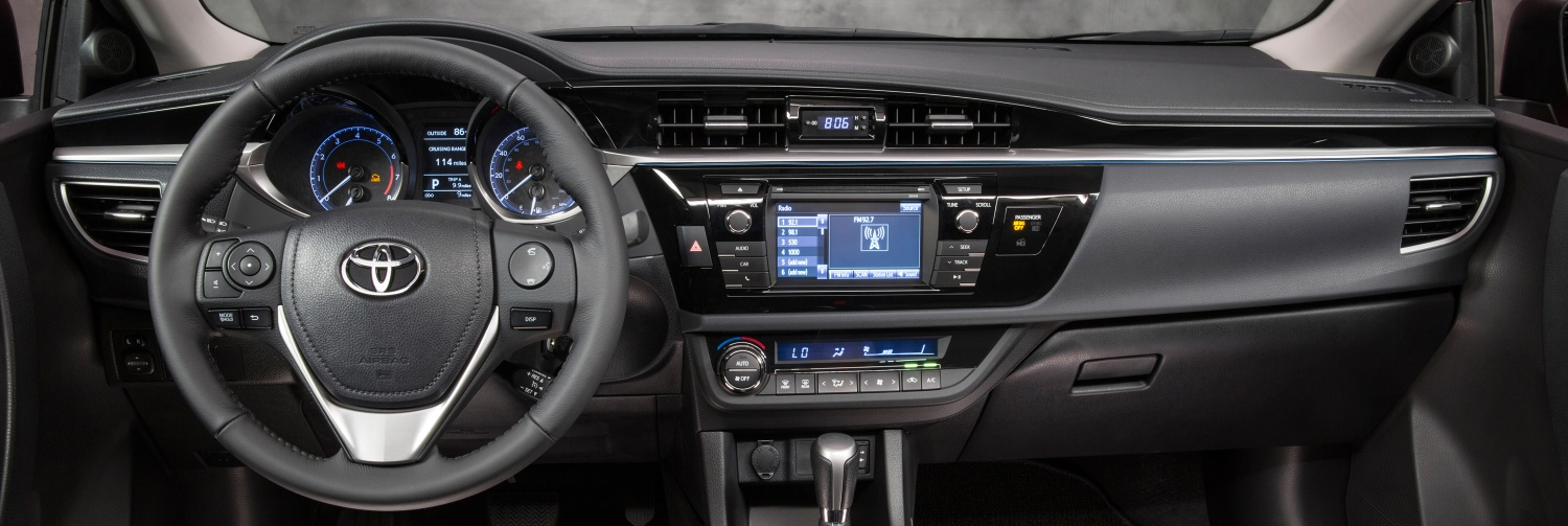 2014 corolla the best new features limbaugh toyota - 2014 toyota corolla interior features ...