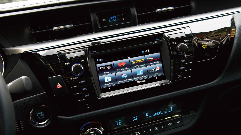Toyota Corolla Technology With Available Entune™ Premium Audio with Navigation and App Suite