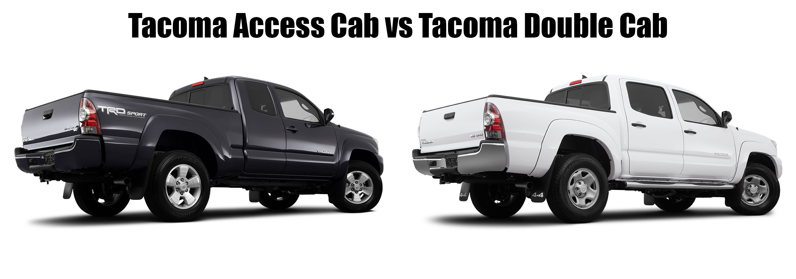 tacoma access cab vs tacoma double cab limbaugh toyota reviews specials and deals. Black Bedroom Furniture Sets. Home Design Ideas
