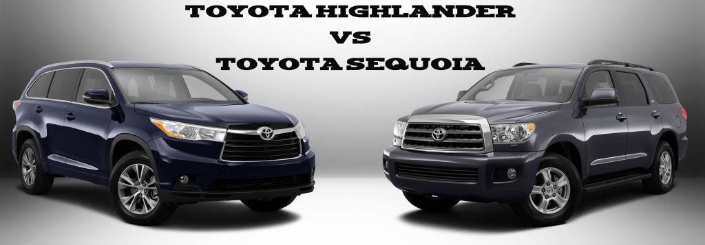 Toyota Highlander Vs Toyota Sequoia Limbaugh Toyota Reviews