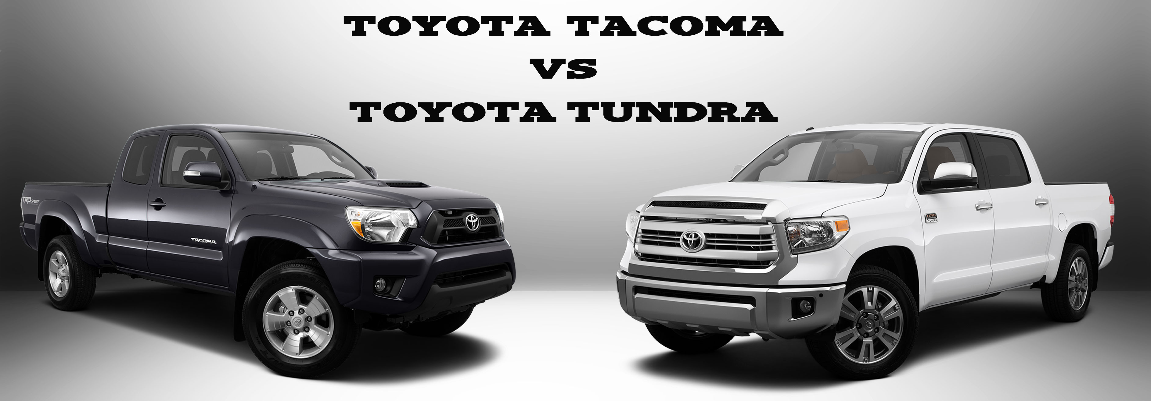 Toyota Tacoma Vs Toyota Tundra Limbaugh Toyota Reviews