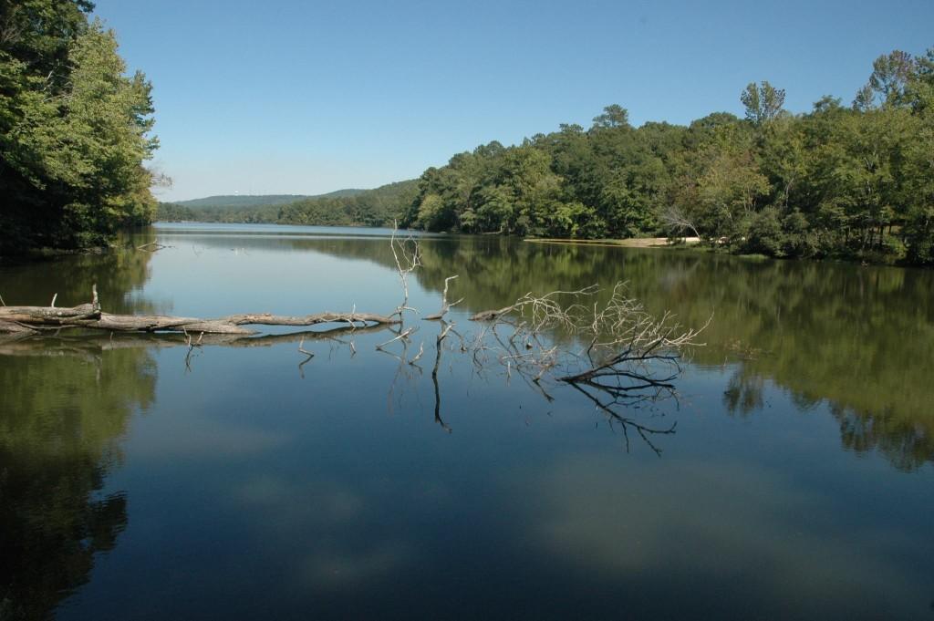 oak mountain state park lake