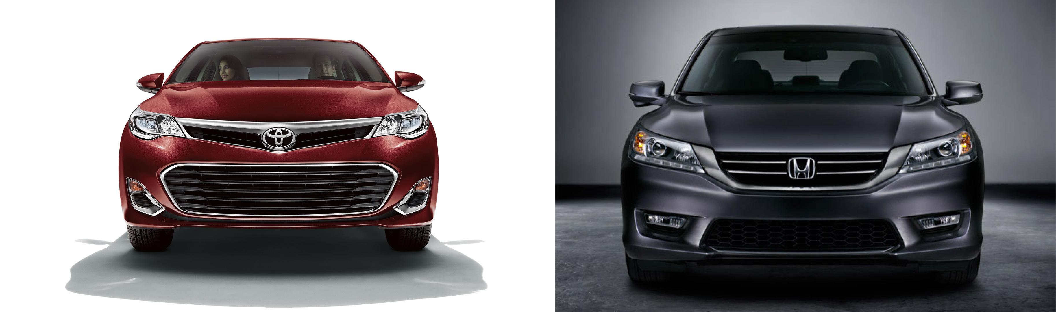 2015 Toyota Avalon vs. 2015 Honda Accord - Limbaugh Toyota ...