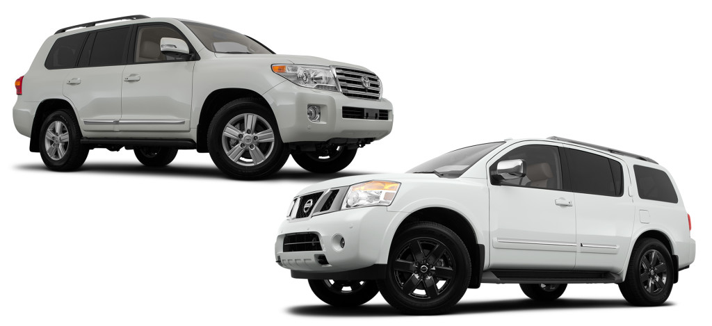 toyota land cruiser vs nissan armada birmingham. Black Bedroom Furniture Sets. Home Design Ideas