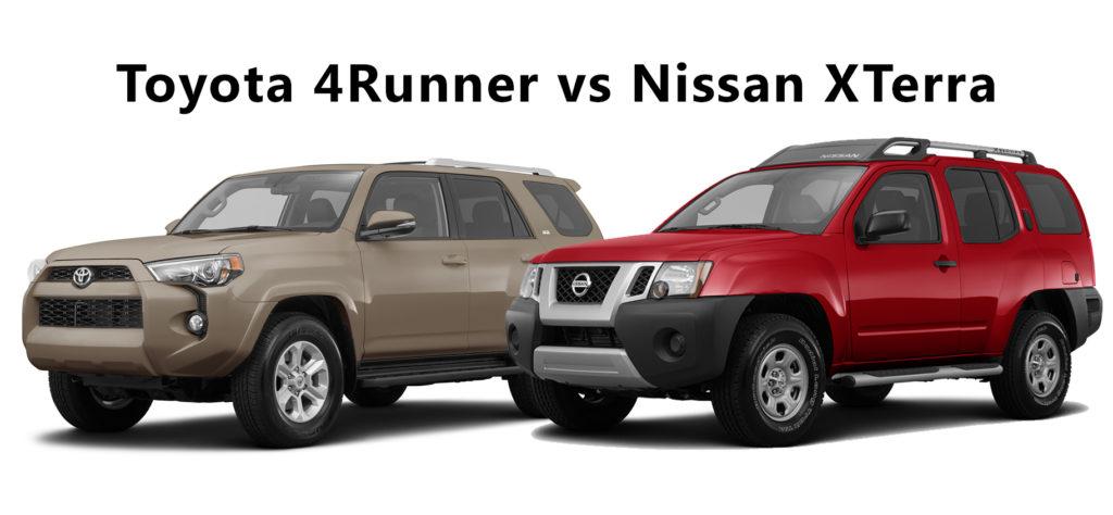 Toyota 4Runner vs Nissan XTerra