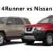 2016 Toyota 4Runner vs. Nissan Xterra