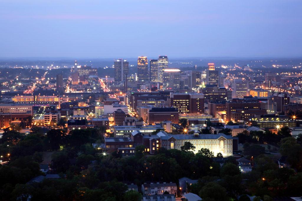 Birmingham City Skyline