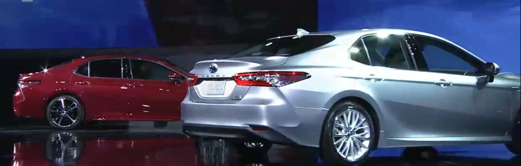 2018 Camry Reveal