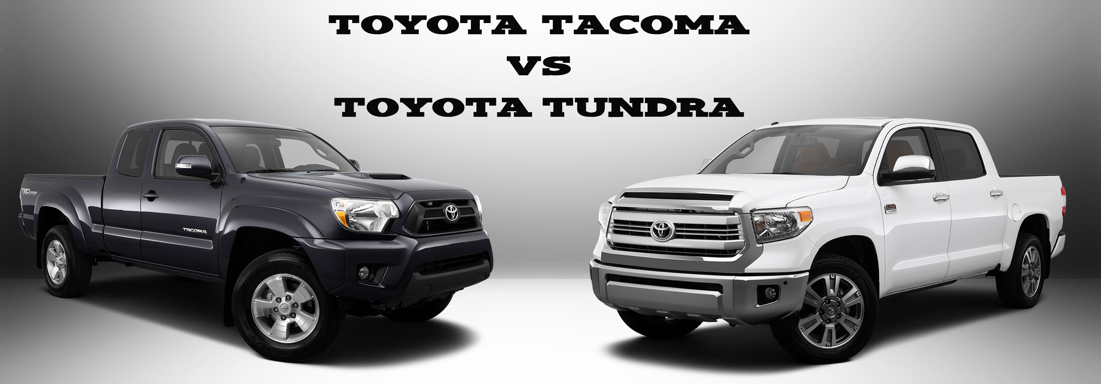 Toyota Tacoma Vs Tundra Mpg Size